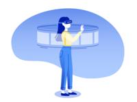 VR girl part1