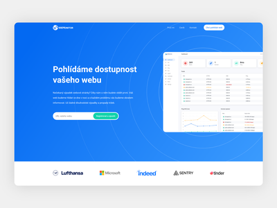Check your website startup czech uiux modern minimalism website product design design ui design domain checker webdesign ui
