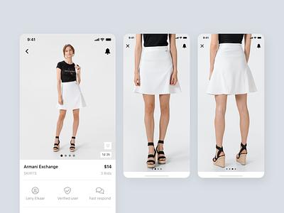 Bidie mobile ui app design modern minimalism product design design ui mobile mobile app auction app bid app