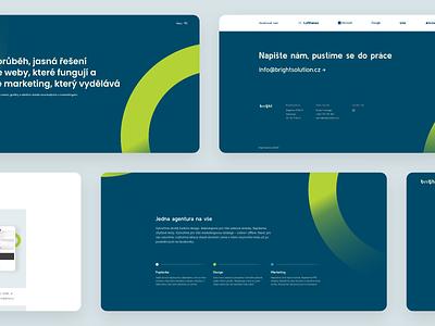 Agency website agency website agency startup czech 2020 minimalism website webdesign product design design ui