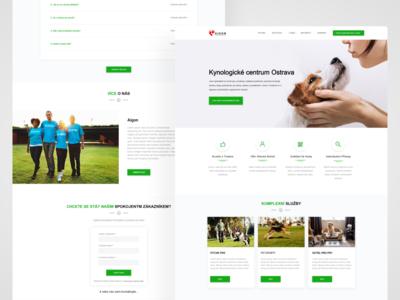 Dog training website