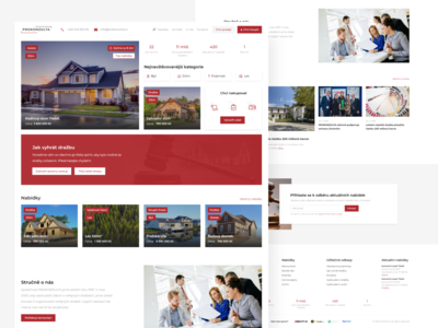 Auctions Website Designs Themes Templates And Downloadable Graphic Elements On Dribbble