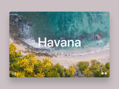 Travel website - Havana
