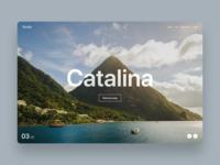 Travel website - Catalina