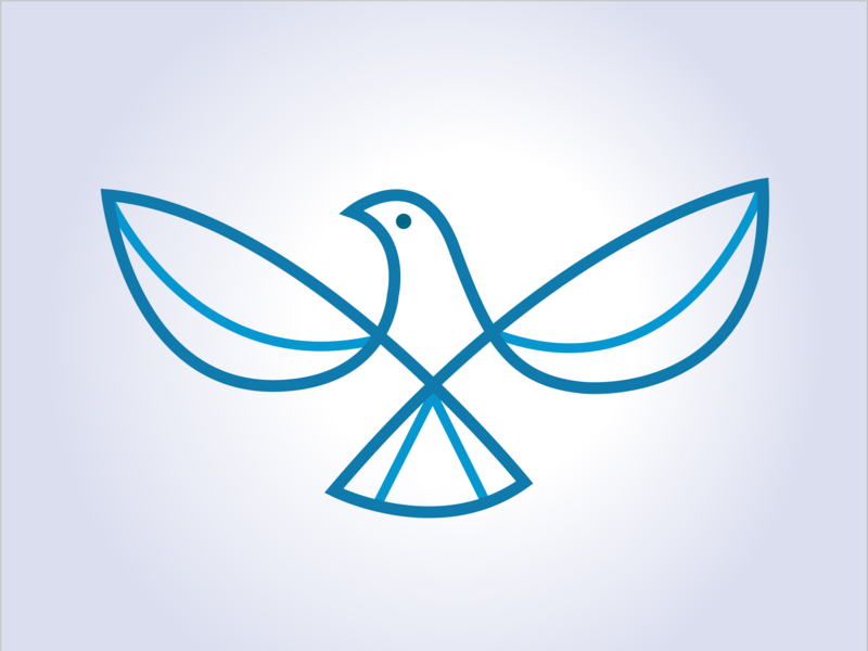 dove dove logo illustration logo