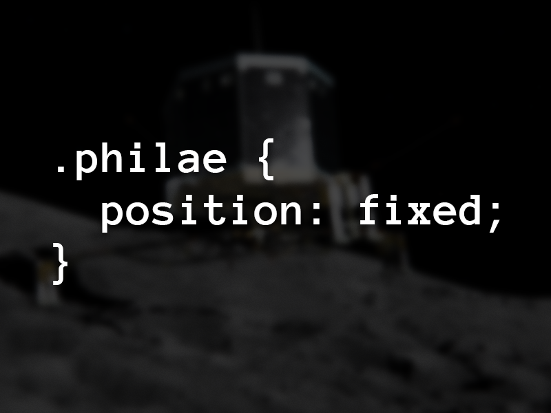 .philae tchouri comete philae rosetta touchdown css