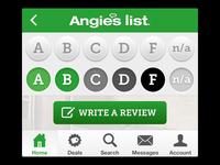 Angie's List iOS app 2.9