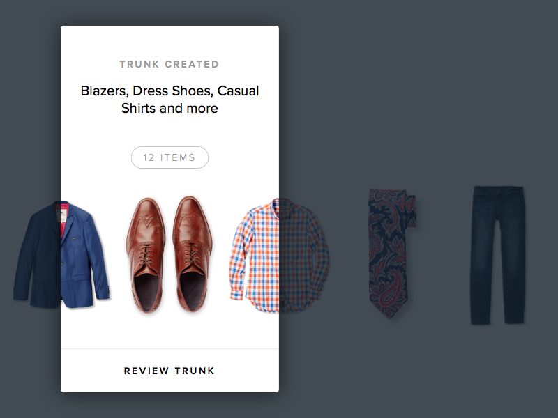 Trunk Status nordstrom club trunk club clothes apparel ios app status clothing
