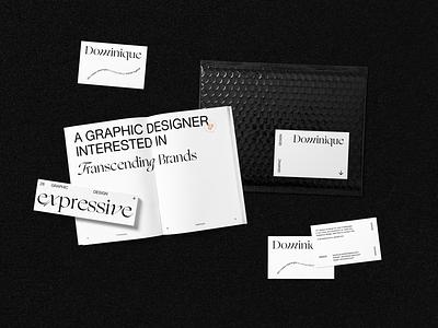 Dominique editorialdesign editorial bizcard print brochure brand identitydesign identity graphicdesign design branding