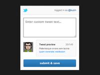 Tweet Modal