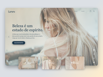Lúmini - Redesign Concept [Web] redesign redesign concept concept site design design web design site