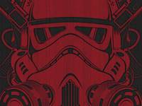 Stormtrooper t-shirt design