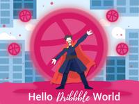 Hello Dribbble World!