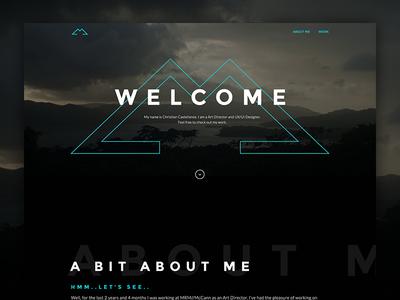 Personal Portfolio 2016-2017 designer art director work user interface user experience personal portfolio design website ux ui web