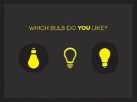 bulb & bulb & bulb