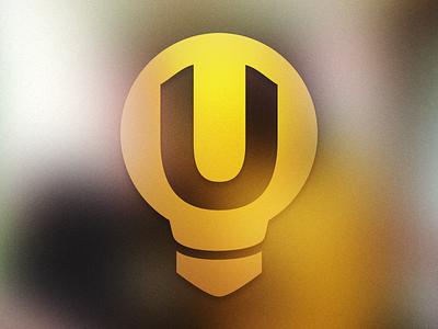 U Bulb Mark mark logo lightbulb