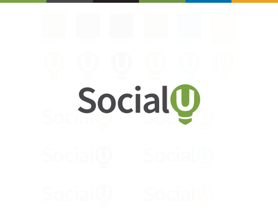 SocialU Logo logo bulb