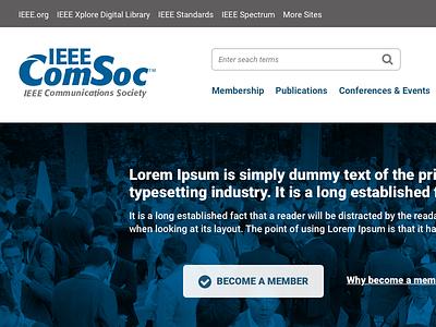 IEEE ComSoc Homepage redesign