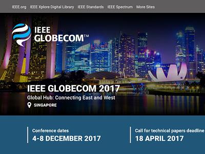 IEEE ComSoc Event Mini Site redesign