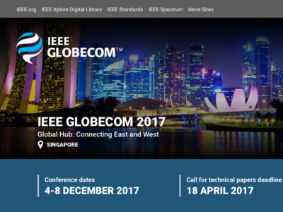 IEEE ComSoc Event Mini Site
