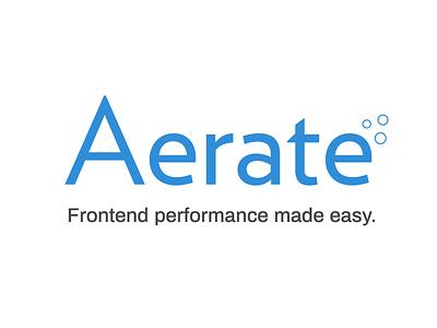Aerate Logo Final branding identity logo