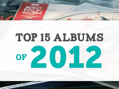 15 Albums favorite albums of the year photography typography