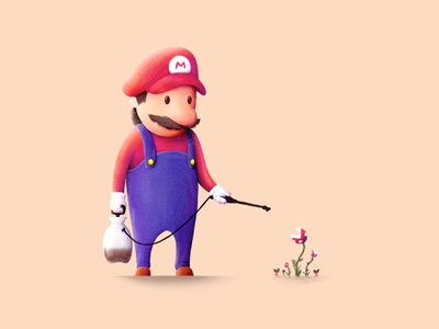 Mario and Plants