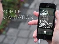 Responsive Mobile Navigation