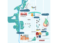 Map for East End Toronto