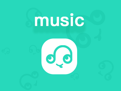 Hello Dribbble ui music icon icon