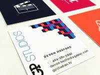 GP Studios - Business Cards