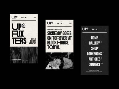UP® - 002. Mobile. design direction art direction web design ecommerce mobile ios typography design web ui ux user interface