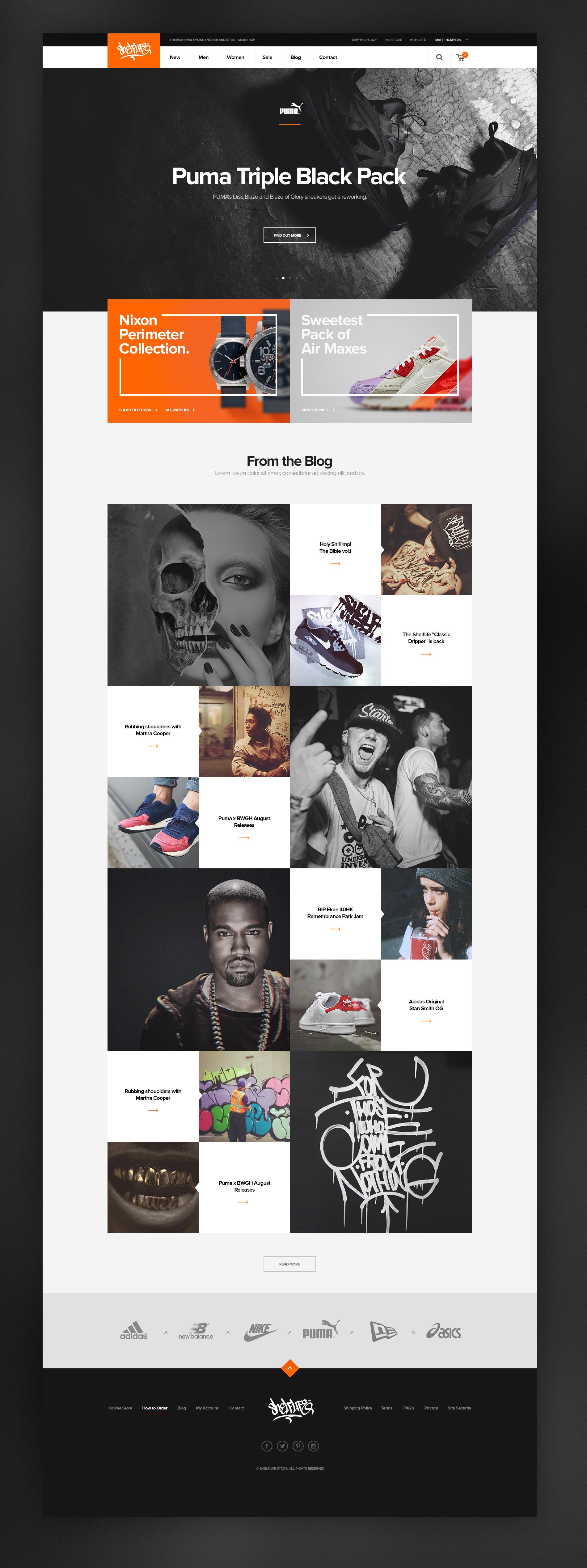 Shelflife sneaker store
