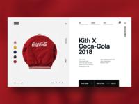 Kith x CocaCola