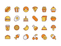 Food Icon Set icon free