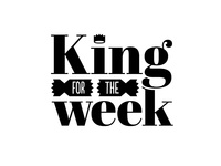King for the week logo