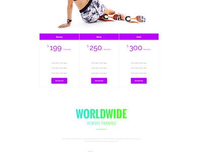 Devagura WordPress Template Design wordpress website gradient typography fitness template simple shop minimal ecommerce sport clean