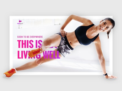 Devagura WordPress Template Design wordpress website gradient typography fitness template simple shop minimal ecommerce sport clean