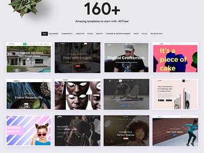 Jupiter Theme - Templates Landing Page web design typography ui website design wordpress mockup creative clean