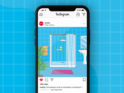 Instagram Post - Nexity startup typography flat design character design vector illustration explainervideo animation instagram post social media instagram