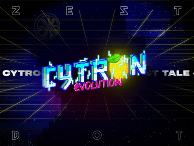 CYTRON EVOLUTION  - A ZEST GAME by DOT pixelart pixels motion design animation branding apparel mobile game spaceship illustration pixel motion game design gaming retro