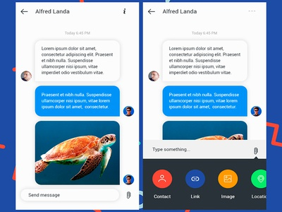 Daily UI #013 Direct Messaging