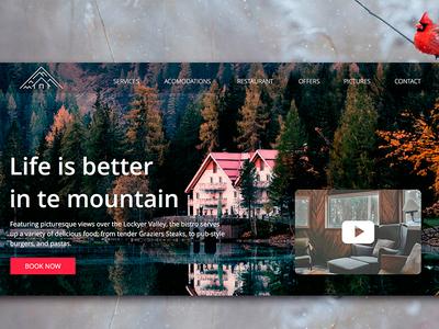 Mountain Hotel concept