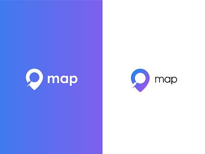 map logo logodesign logotype logo map