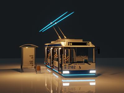 trolley bus moldova chisinau bus trolley