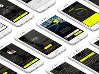 Training app - iOS design