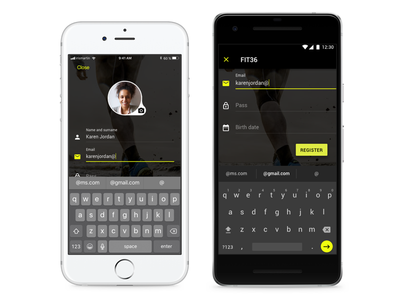 UX/UI Mobile - Android iOS movil mobile ux ui digital material design design android ios