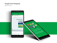 Google Coins APP - Concept design and prototype