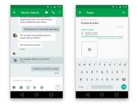 Hangouts Concept - Share/request money