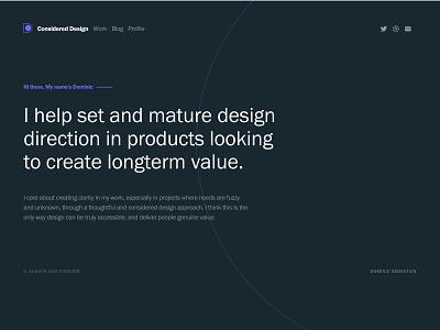 2018 Portfolio update minimal ux ui product design portfolio